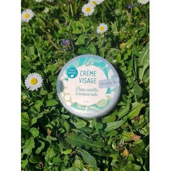 Crème Visage peaux sensibles à tendance sèche