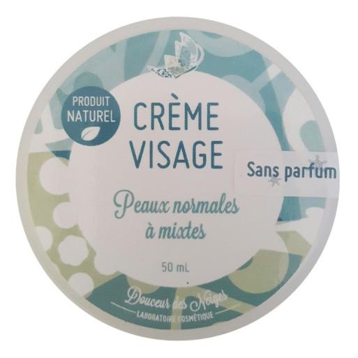 Crème Visage peaux normales à mixtes