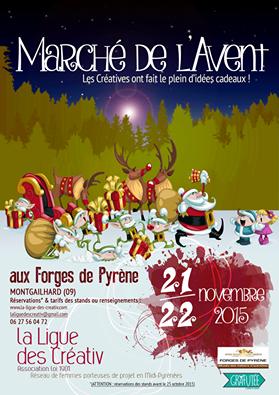 Marché de Noel de La Ligue des Creativ FOIX