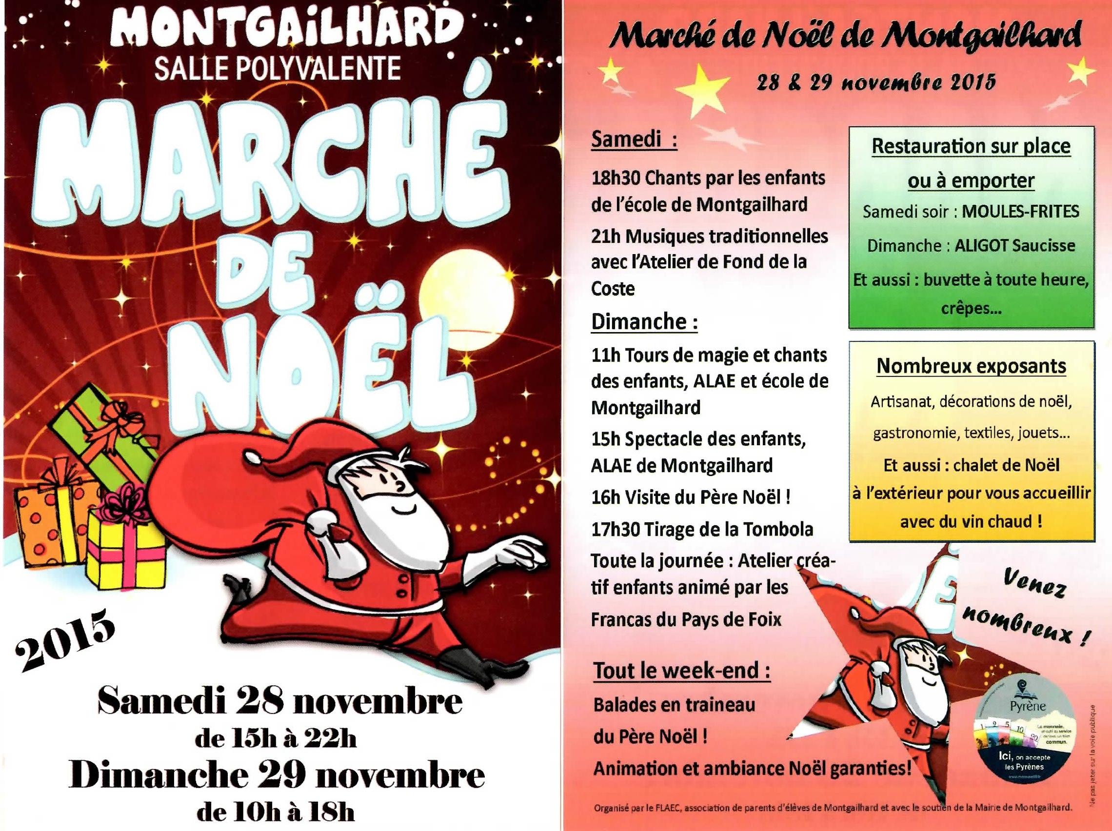 Marché de Noël Montgailhard